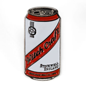 Witchcraft Beer Can Enamel Pin