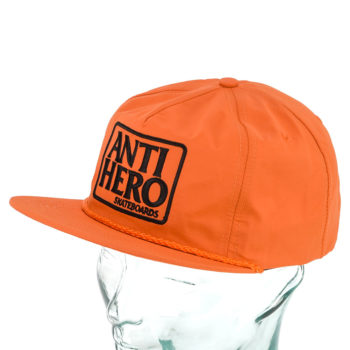 Anti Hero Reserve Patch Unstructured Snapback Hat Orange