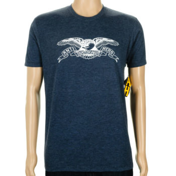 Anti Hero Basic Eagle T-Shirt Navy