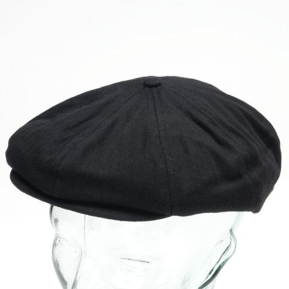 Brixton Hooligan Flatcap Hat Black