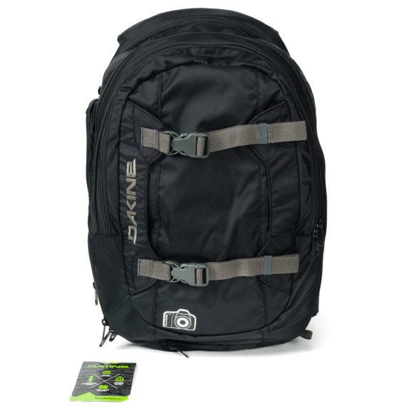 Dakine Mission 25L Photo Backpack Black