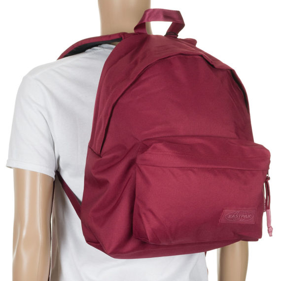 Eastpak Padded Pak'r Backpack Merlot Matchy