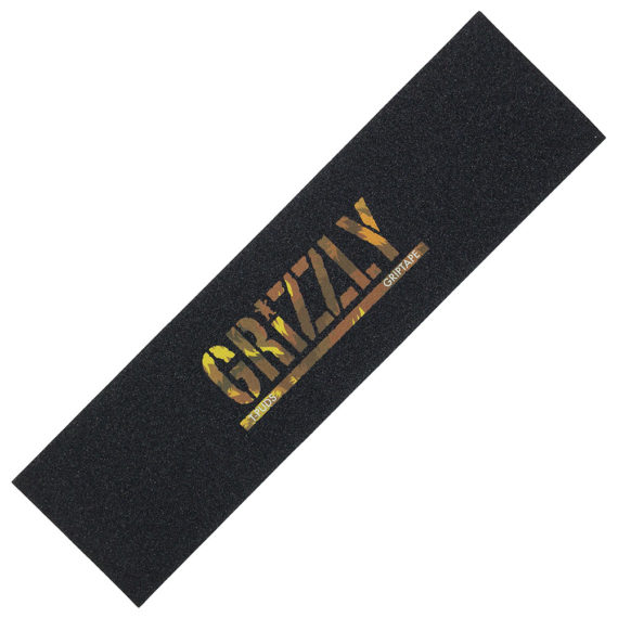 Grizzly Griptape T-Puds Wildlife Stamp Pro Grip