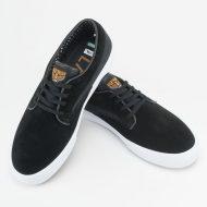 Lakai Riley Hawk Shoe Black Suede