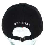 Official Rarri Flat Strapback Hat Black