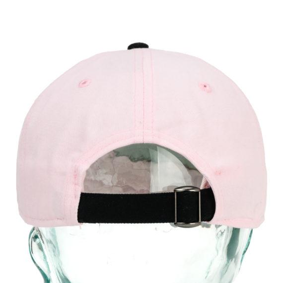 Welcome Dark Energy Six Panel Hat Pink Black