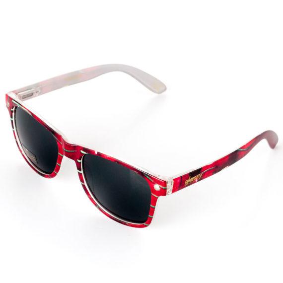 Glassy Sunhaters Leonard Cherry Sunglasses