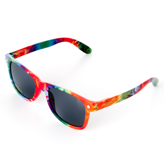 Glassy Sunhaters Leonard Tie Dye Sunglasses