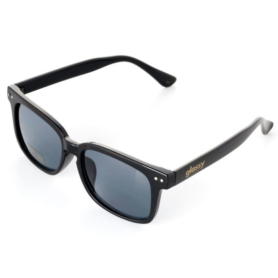 Glassy Sunhaters Lox Sunglasses Black