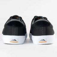 Lakai Riley Hawk Shoe Black Gum Suede