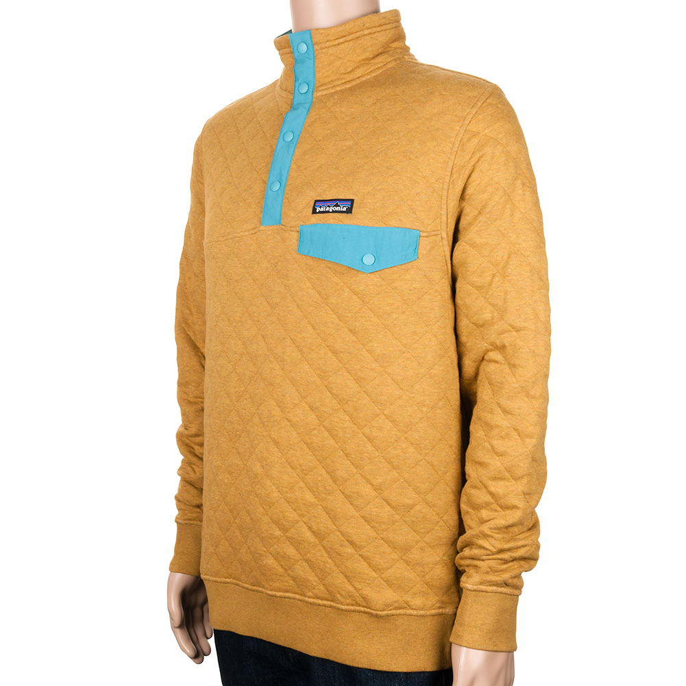 Patagonia Cotton Quilt Snap T Pullover Tapenade At Skate Pharm