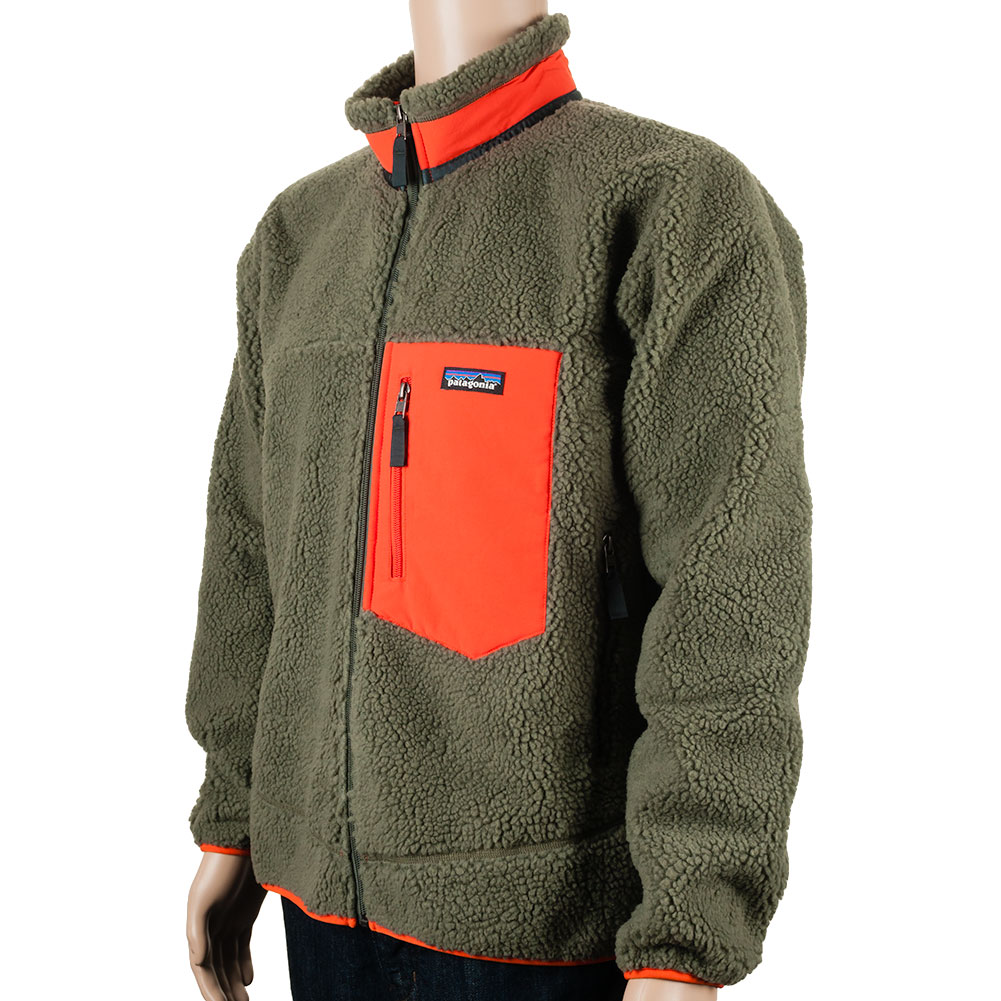 Patagonia Classic Retro X Fleece Jacket Green At Skate Pharm