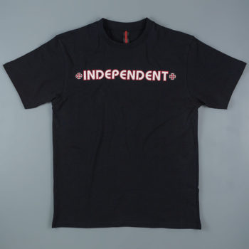 Independent T-Shirt Bar Cross Black