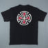 Independent T-Shirt Bar Cross Black