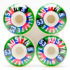 Small Austyn Gillette Marquee Wheels 53mm White