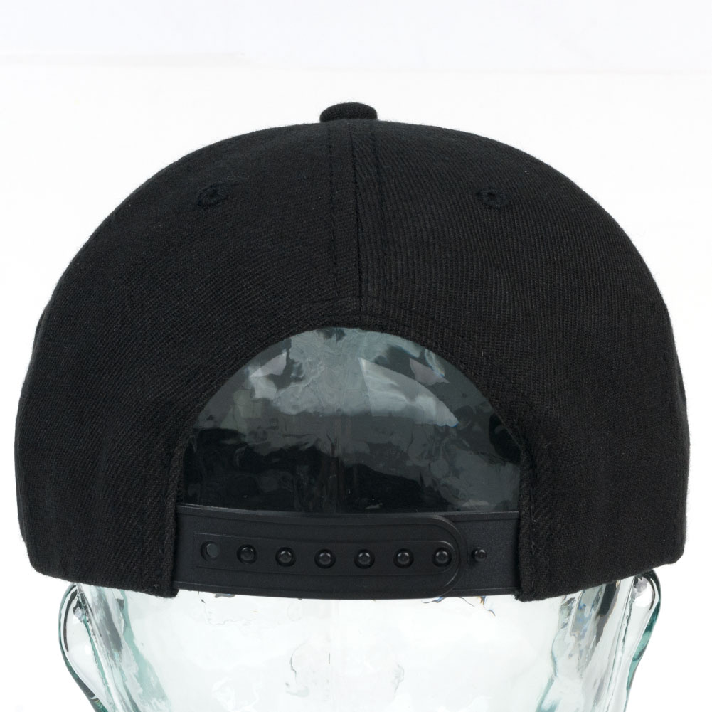 09a31543cc3 Thrasher New Religion Snapback Cap Black Available at Skate Pharm