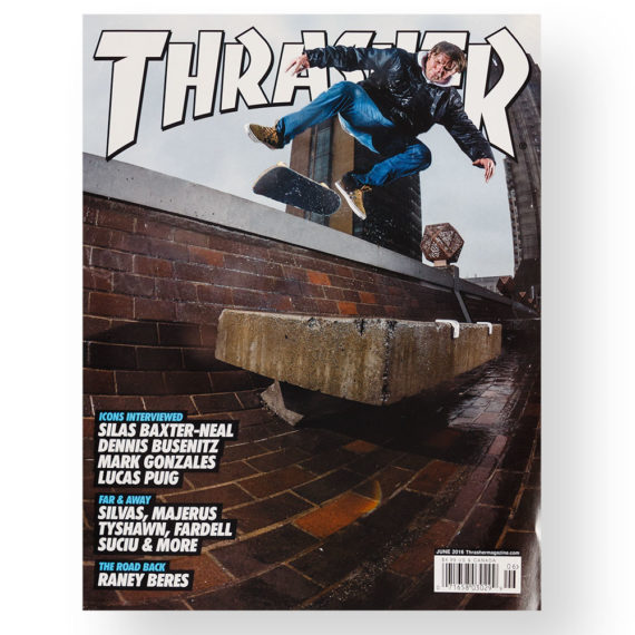 Thrasher Magazine Issue 431 June 2016
