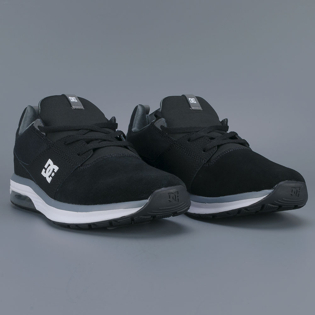 D.C. Heathrow IA Shoes Black Grey White Available at Skate Pharm f70f2cea12