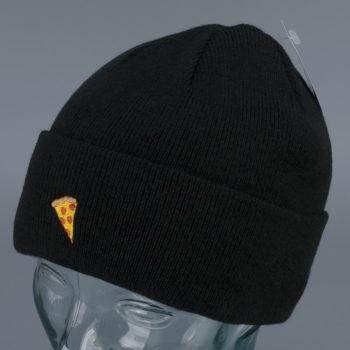 Pizza Skateboards Emoji Logo Beanie Black
