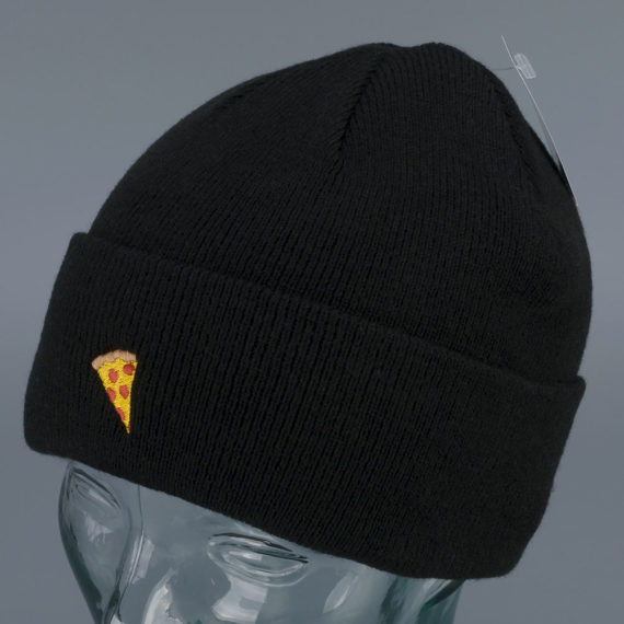 Pizza Skateboards Emoji Logo Beanie Black
