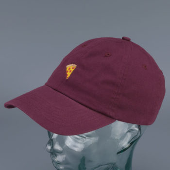 Pizza Skateboards Emoji Delivery Boy Hat Burgundy