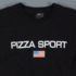 Pizza Skateboards Sport Logo T-Shirt Black