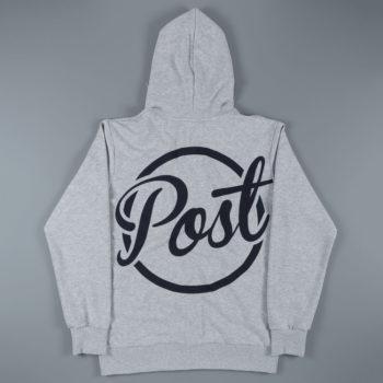Post Details Circle Logo Half Zip Hoodie