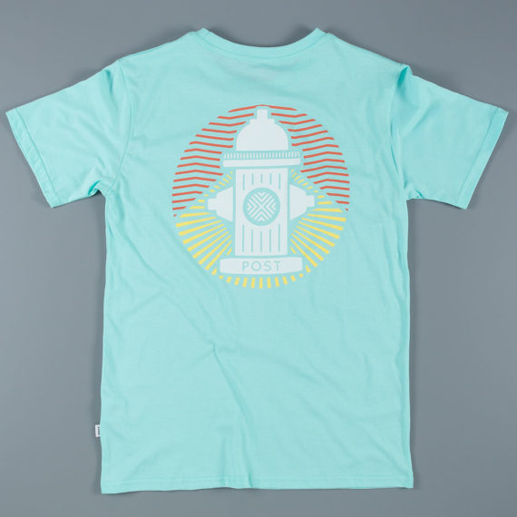 Post Details Tropical Hydrant T-Shirt Faded Aqua