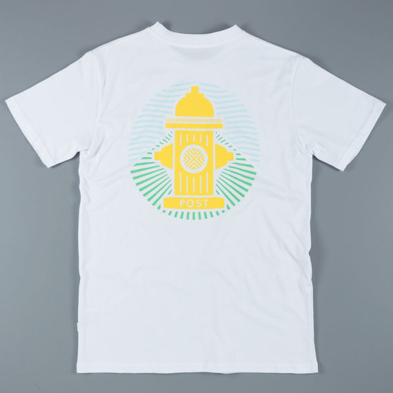 Post Details Tropical Hydrant T-Shirt White