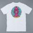Post Details Splatter Hydrant T-Shirt White