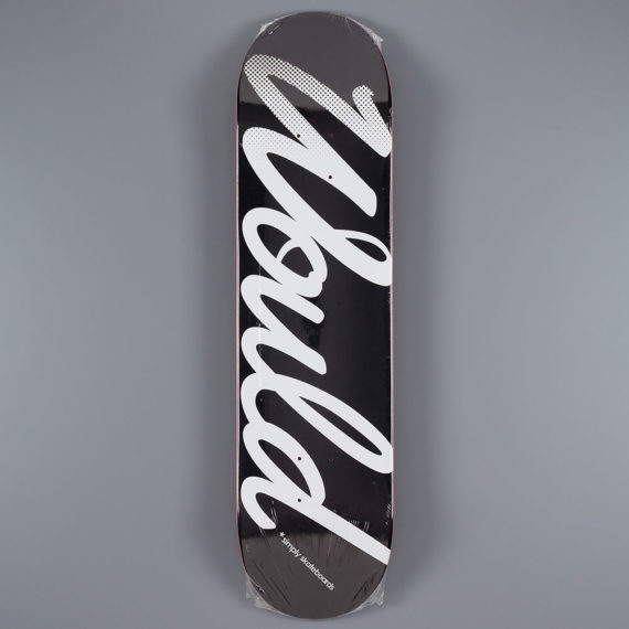 Would Black White Logo Deck 8.0″