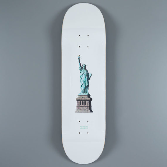 "Zoo York Lady Liberty Deck 8.25"""