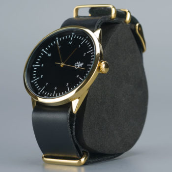 Cheapo Harold Watch Black Gold