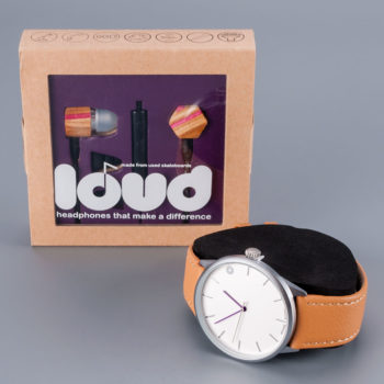 Cheapo Watch x Loud Earbuds Gift Set