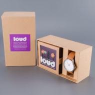 Cheapo Watch x Loud Earbuds Gift Set