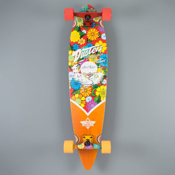 Dusters Cruising Blossom Longboard Complete 37.0""