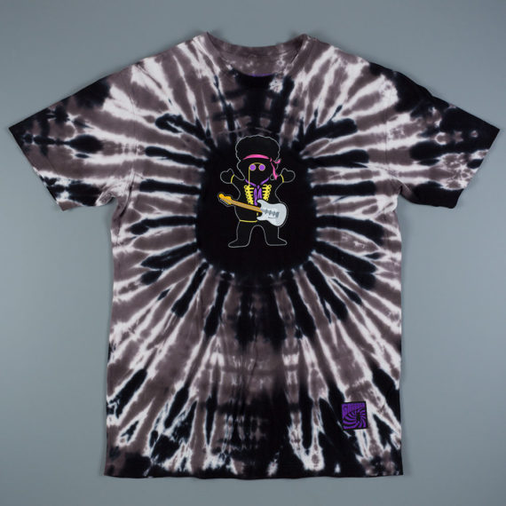Grizzly x Jimi Bear T-Shirt Tie Dye