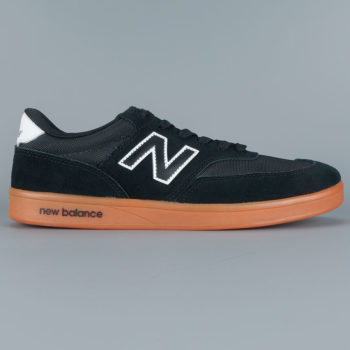 New Balance Numeric 617 Shoes Black Gum
