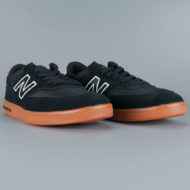 New Balance Numeric 617 Shoes Black Gum