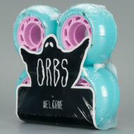 Welcome Orbs Ghost Lites Wheels Hollow Core 54mm Blue Pink