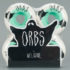 Welcome Orbs Poltergeists Wheels Solid Core 55mm White Teal