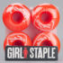 Girl Skateboards SketchY Colour Wheels 51mm