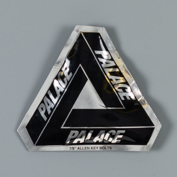 Palace 7/8 Allen Bolts Silver