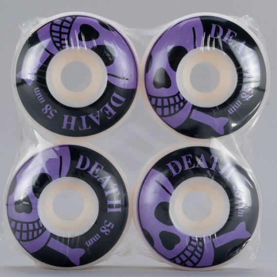 Death Skull Logo Wheels 58mm White
