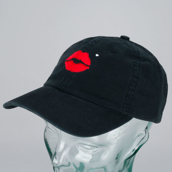 Diamond x Marilyn Monroe Lips Sport Hat Black