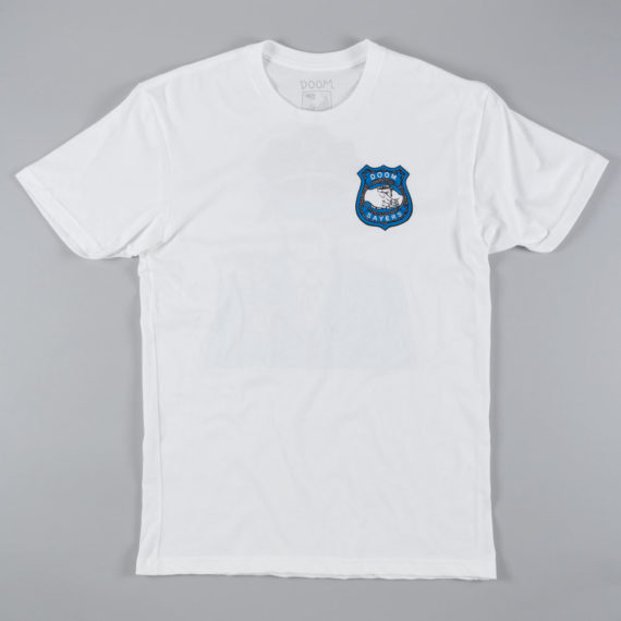 Doom Sayers Corp Cop T-Shirt White