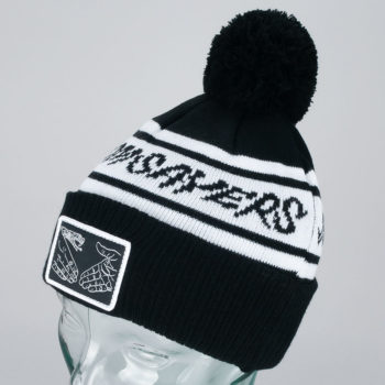 Doomsayers DSC Pom Beanie Black White