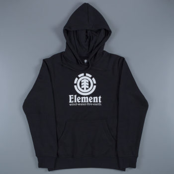 Element Skateboards Vertical Hoodie Black