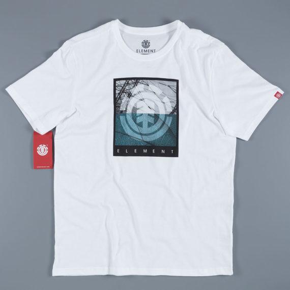 Element Skateboards Flow T-Shirt White