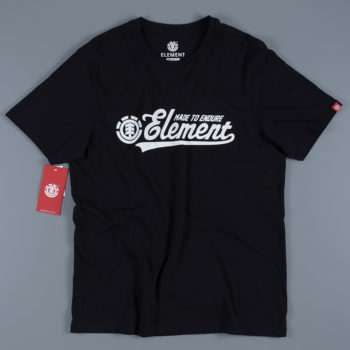 Element Skateboards Signature T-Shirt Black